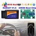 Real 25K80 Chip Mini ELM327 V1.5 Bluetooth 1.5 Obd2 DEL OLMO 327 OBDII de Diagnóstico Del Coche Del OBD II En Android Torque y Ventanas herramienta