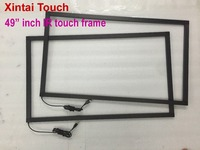 49 inch IR touch frame 10 points usb infrared touch screen panel multi touchscreen overlay for touch screen monitor pc