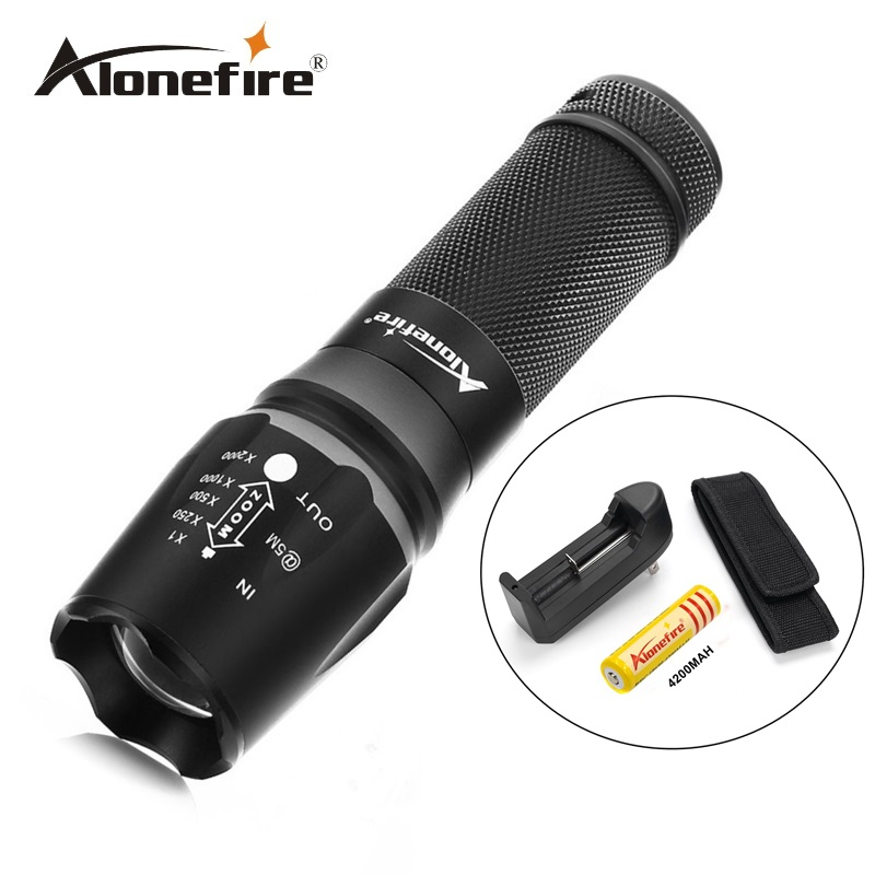 buy x800 led flashlight 2000 lumens tactical flashlight cree xml t6 led torch. Black Bedroom Furniture Sets. Home Design Ideas