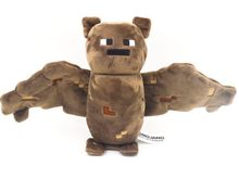 "X-mas Presente Jogo Bat Overworld Minecraft 7 ""Toy Plush Macio Stuffed por Jazwares(China)"