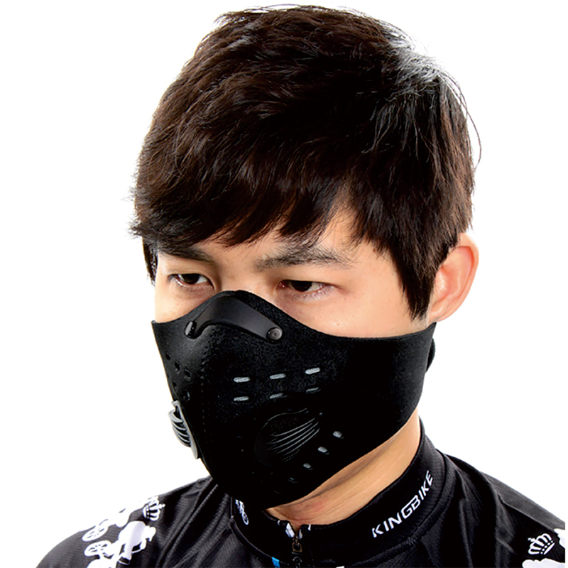 pcycling anti pollution city cycling face mask mouth muffle dust mask bicycle sports protect. Black Bedroom Furniture Sets. Home Design Ideas