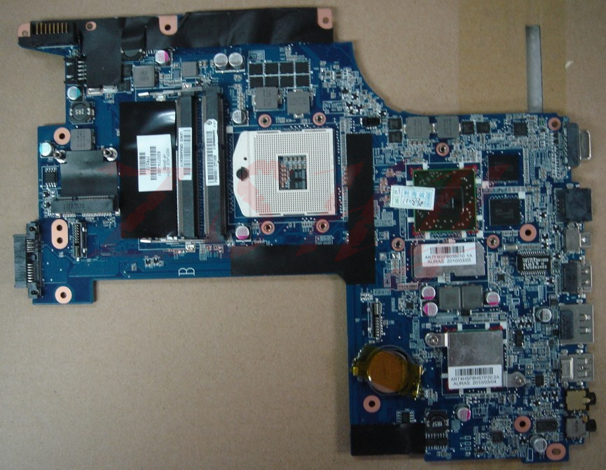 For HP Envy 17 17-1100 620774-001 Laptop Motherboard DASP8AMB6D0 Free Shipping 100% test ok free shipping for dm1 mini 311 motherboard series athlon ii 1 3ghz motherboard 608641 001 test ok good quality