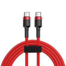 usb c-usb c кабель для apple macbook pro xiaomi notebook air type-c-type-c кабель для быстрой зарядки usb pd зарядное устройство 2 м