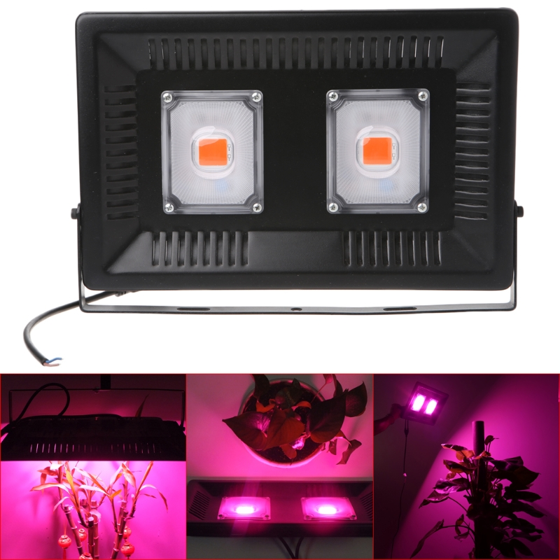 YAM IP67 Waterproof 100W Aluminum COB LED Grow Light For Indoor Hydroponic Plant usb c type c to hdmi vga 3 5mm audio adapter 3 in 1 video converter for macbook google chromebook pixel laptop cast screen to tv