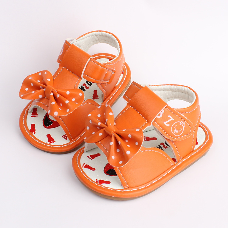 2018 Summer 0 2 Years Old Baby Girl Toddler Shoes First Time Lovely Princess Bow Newborn Sandal Birthday Gift Casual In Sandals Clogs From Mother