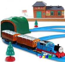 2017 New Thomas And Friends Electric Thomas Trains Set With Rail Toys For Children Boys Kids Toys Jugetes Para Ninos