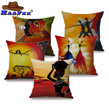 Buy African Print Decor Throw Pillows And Get Free Shipping On