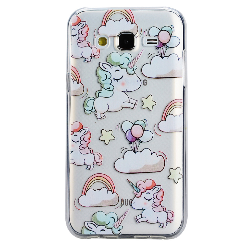 S5 S6 S7 Borde Cajas Del Teléfono Celular para Samsung Galaxy A3 A5 J1 J3 J5 J7