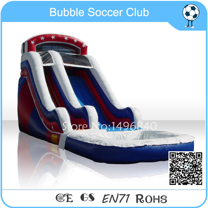 Free Shipping Guangzhou Factory Inflatable Water Slide/Inflatable Water Slide With The Pool Manufacturer commercial inflatable water slide with pool made of pvc tarpaulin from guangzhou inflatable manufacturer
