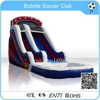Free Shipping Guangzhou Factory Inflatable Water Slide/Inflatable Water Slide With The Pool Manufacturer