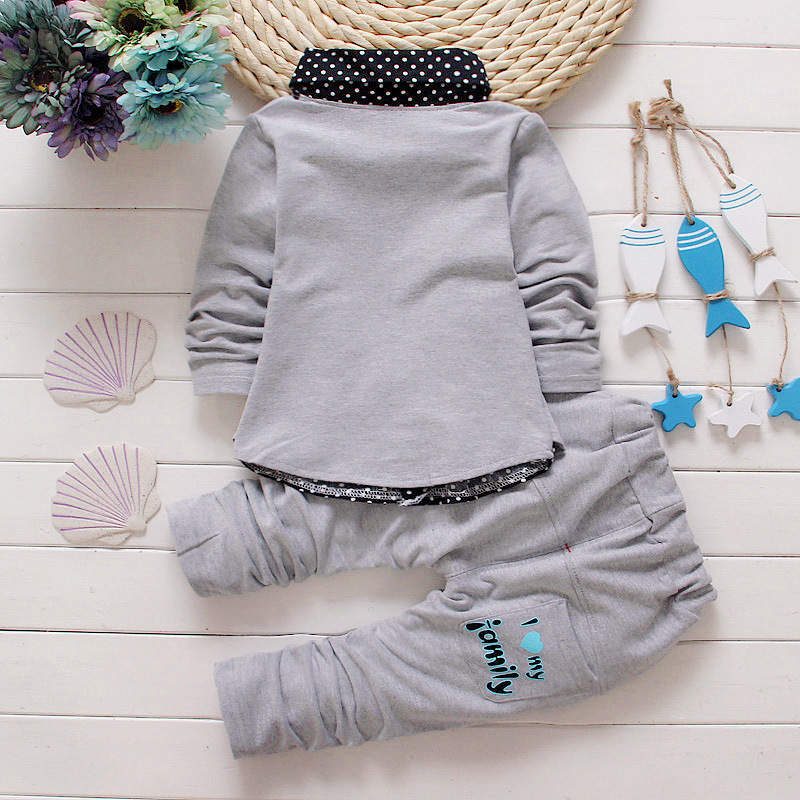 BibiCola-Spring-Autumn-Baby-Boy-girls-Clothing-Sets-children-Bow-tie-T-shirts-pants-kids-cotton-cardigan-2-pc-suit-sport-suit-4