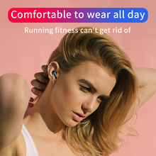 HBQ Bluetooth 5.0 Earphones Portable TWS Wireless In-ear 3D Stereo Sound With Mic Handsfree Sports Earbuds Auto Pairing Headset (2 colors)