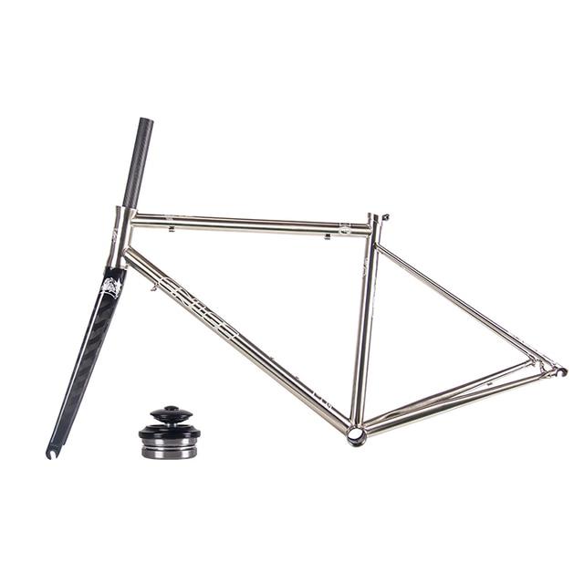 aliexpress com compre nova enlee ultraleve 1550g road bike quadro
