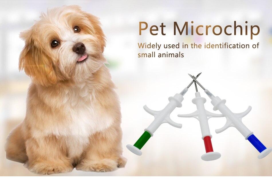 100pcs A Lot 1 25x7mm Cat Dog Microchip
