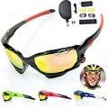 8 Colores 2016 Hot Ciclismo Gafas mujeres de Los Hombres de Pesca de Esquí UV400 MTB Bicicleta Ciclismo Gafas de Sol de la Quijada gafas