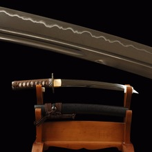 Sehr Sharp Japanische Tanto Schwert 1095 Carbon Steel Lehm Gehärtetem Unokubitsukuri Full Tang Kurze Schwert Samurai Cosplay Messer