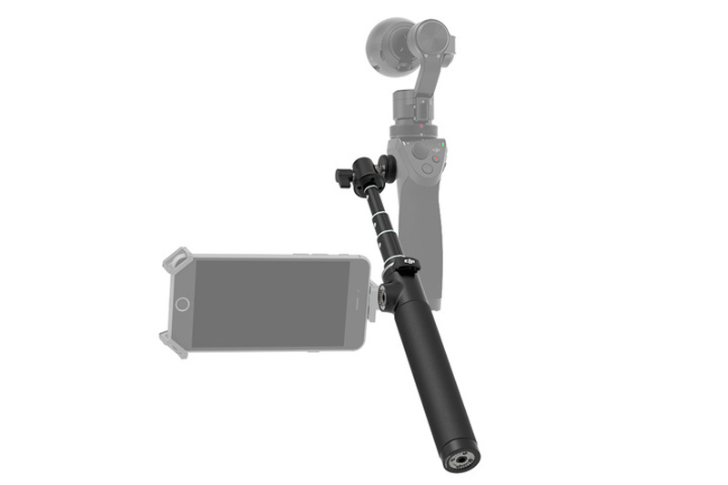 Extension Pole Monopod for DJI Osmo 3-Axis Handheld Gimbal Camera Drone Accessories  new black abs plastic gimbal hard case for mini drone dji osmo with custom foam waterproof box for headless drone