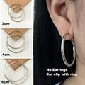 Wholesale multicolor Non pierced ear clip painless ear clip Earrings 30MM60MM clip on Earrings