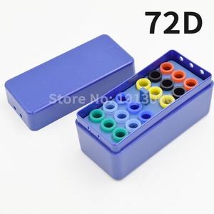 Image 5 - Caixa endodontia de plástico para esterilizar 72 furos, caixa autoclavável