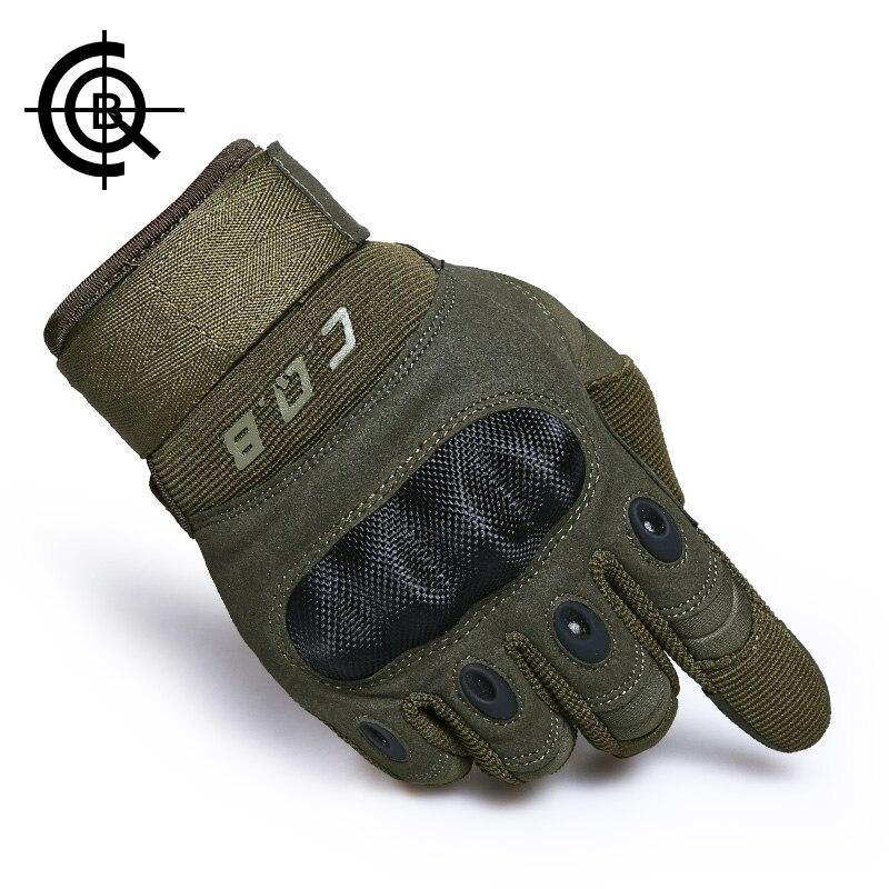CQB Marca Ciclismo Guanti Army Tactical Gloves Luvas Taticas Moto Guanti Escursioni Sport Outdoor Ciclismo Uomini Airsoft Guanti