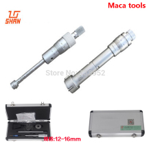 Shan brand 6-8 мм 8-10 мм 10-12 мм 12-16 мм 16-20 мм трехточечные внутренние микрометры три точки внутри микрометра измерительный инструмент