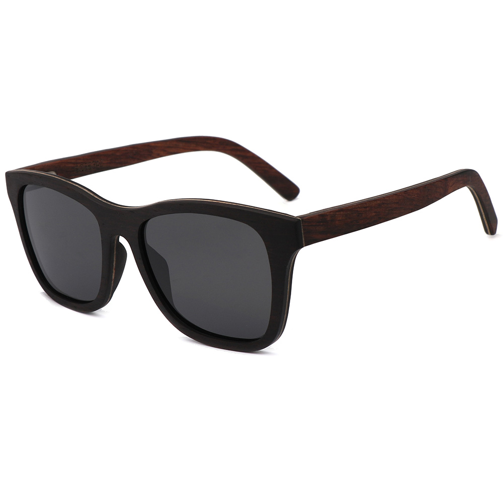 02a47113cb BerWer Ebony wood Design Luxury Sunglasses Women Original Wood Handmade Sun  Glasses Man Fashion Vintage Style ...