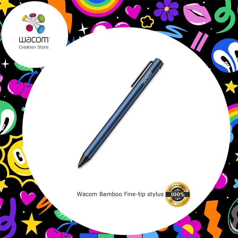 Wacom stylet à pointe Fine en bambou pour iPhone iPad et appareils Android