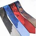 Nueva Llegada de Mens Lazos de Lujo Hombre Floral Flaco Corbatas Hombre 6 cm Gravata Corbata Delgada Casual de Negocios Clásico Paisley Corbata Para Los Hombres