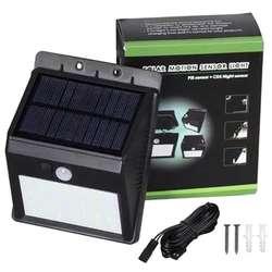 20-светодиодный Солнечный настенный светильник Открытый водонепроницаемый PIR Активированный датчик движения светильник для патио