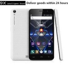 En stock homtom ht16 pro 5.0 pulgadas hd 4g lte móvil celular MT6737 teléfono Quad Core 2 GB 16 GB Android 6.0 GPS 8MP Dual Sim SmartPhone