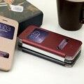 Baseus ультратонкий Кожа Пластиковый Корпус с Caller ID Дисплей для iPhone 6 Плюс и 6 S Плюс