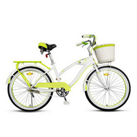 230603/24 inch bike / women fashion leisure cycling / men and adults adult student commuter bike/High carbon steel bracket