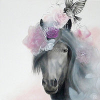 beautiful pictures to paint canvas oil painting modern oil paintings realistic horse painting oil paintings to decorate rooms
