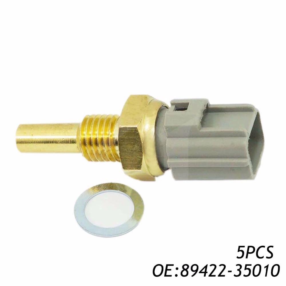 Aliexpress com buy 5pcs 89422 35010 8942235010 179700 0220 original coolant temperature sensor for toyota corolla camry highlander lexus es300 from
