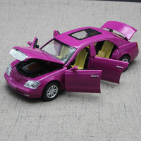 For Maybach Alloy Car Model Light Music Effect 1:32 Auto Speelgoed Pull Back Six Open Door Design Diecast Model Car Toy Vehicles