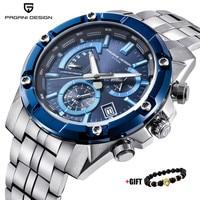 PAGANI DESIGN 2018 New Luxury Brand Chronograph Business Watches Men Waterproof Quartz Sport Watch Clock Men Relogio Masculino