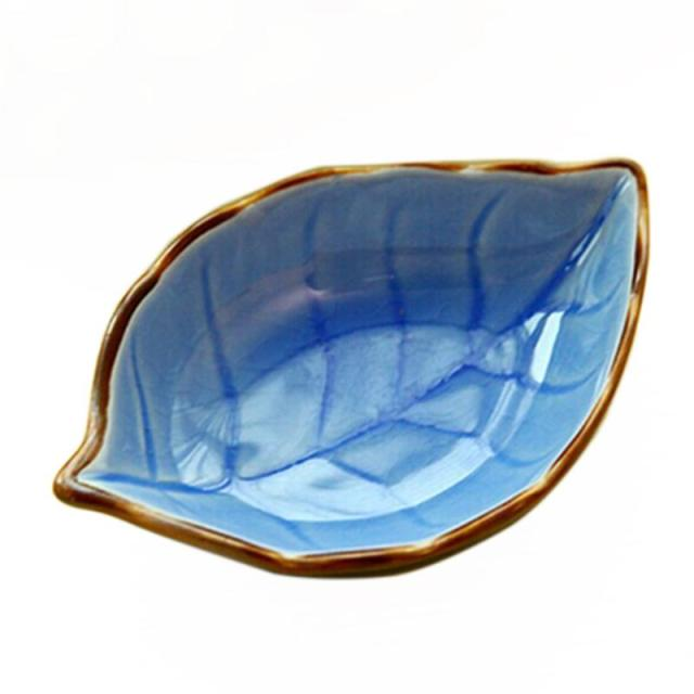 Small Leaf and Fish Shaped Plate