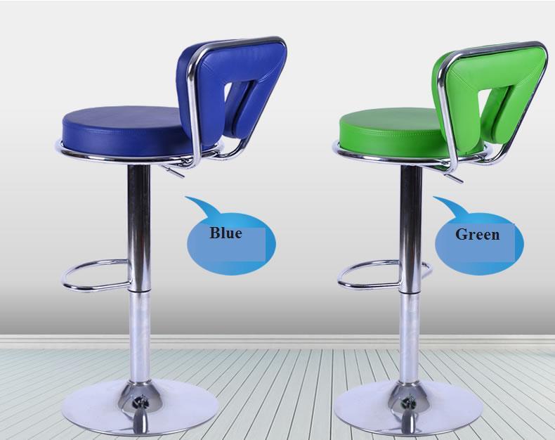 blue green purple bar chair lifting KTV Karaoke stool massage room Boxing Hall chair