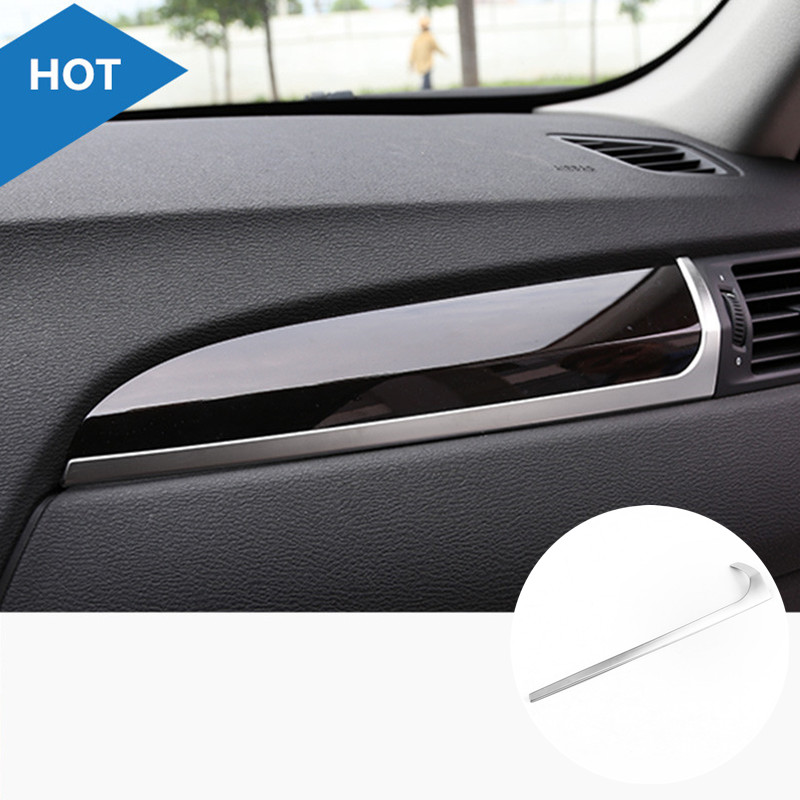 Inner Center Console Glove Box Moulding Cover Trim For BMW X4 F26 2014 2015 1pcs polaris x over glove