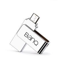 BanQ T96 USB Flash Drive 64GB Metal OTG Pendrive High Speed USB Memory Stick 32GB pen Drive Real Capacity 16GB USB 3.0 U disk