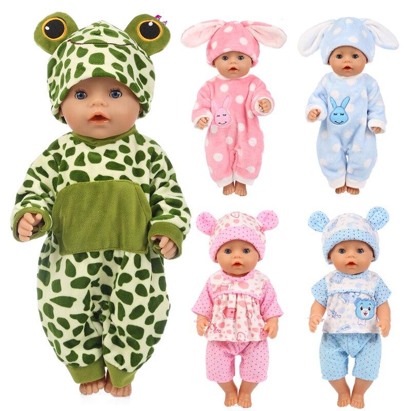 15 Styles Choisir Loisirs Sports Poupée Vêtements Porter Fit 43cm Bébé New Born Poupée Combinaison Costume Enfants Meilleur Cadeau D'anniversaire