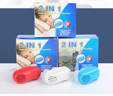 2 w 1 silikonowe anty chrapanie złagodzić Anti Snore korek urządzenie Stop chrapanie narzędzie do pielęgnacji twarzy miękki nos klip noc snu pomocy tanie tanio Anty Snore nos klip Maszyna wykonana Silikon + ABS około 8G niebieski czerwony biały kolor Pakiet detaliczny jest opcjonalny