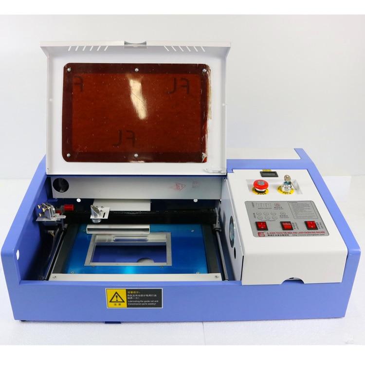 laser cutter JL- 3020 laser engraving mini desktop machine 40w ,co2 laser cutting machine  manufacturer 3020 40w mini co2 desktop laser engraving cutting machine