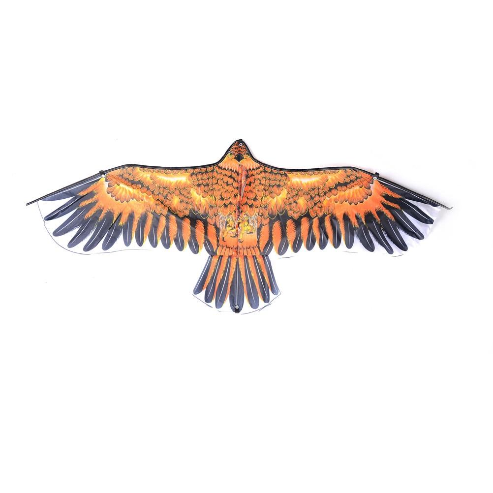 1pc Big Flying Flat Eagle Bird Kite Children