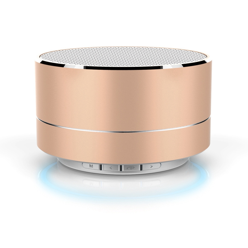 Metal Wireless Bluetooth Speaker with Microphone Portable Mini Support TF Card For iPhone 7 Xiaomi Sound Box Portable Bluetooth