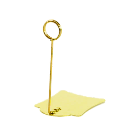 20 Pcs  POP Gold Metal Label Holder Clip Sign Table Top Price Tag Display Stand Clip Picture Photo Memo Note Sign Clip Rack