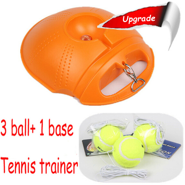 New Tennis Trainer Practice Single Train Training Ball Tool Partner set for beginner Teenage Toys Kids Sports Toy Novelty Gifts