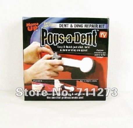 Free shipping 50pcs/lot Pops a Dent & Ding Repair Removal Kit Pops A Dent /Dent & Ding Repair Removal Tools