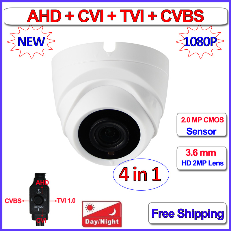 IMX290 IMX323 1080P AHD camera 4in1 HD Analog 2MP AHD-H CVI TVI 960H Color Night Vision CCTV, IR-CUT, WDR, 3DNR, OSD, 3.6mm Lens ahd m l video camera security 1 0mp sensor 720p cmos hd analog 960h camara vigilancia vandalproof 24pcs led osd hd lens ir cut