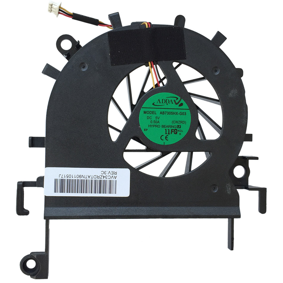 New Original Cpu Cooling Fan For ACER eMachines E732 E732G E732Z E732ZG  DC Brushless Laptop Cooler Radiators Cooling Fan
